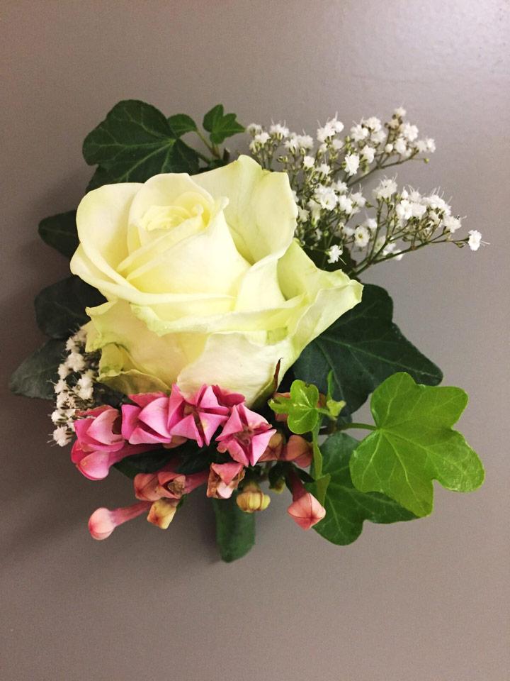 Blumen Sanders Hochzeit Blumenanstecker